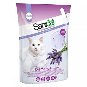 Cát thủy tinh SANICAT cho mèo túi 5L