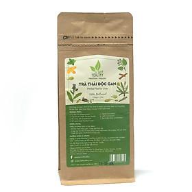 Trà Thảo Dược (Herbal Tea for Liver)- Trà giải độc gan Viet Healthy 150gr, làm từ lá bạc hà, hạt kế sữa, bồ công anh, rễ ngưu bàng, quế, nghệ, bạch đậu khấu, giúp gan thải độc, loại bỏ độc tố, giảm cholesterol trong máu