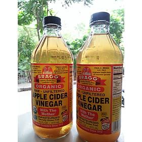 Biểu đồ lịch sử biến động giá bán Giấm táo hữu cơ Organic Bragg 473ml (2 chai)