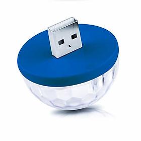 Bóng đèn Led mini USB cảm biến theo nhạc (giao màu ngẫu nhiên) - Hàng chính hãng