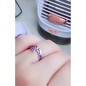 Nhẫn TỬ ĐIỆN MA ĐẠO TỔ SƯ anime manhua nhẫn đeo tay nam nữ phong cách cổ trang quà tặng xinh xắn