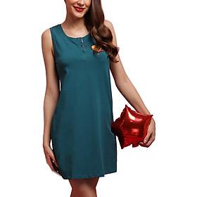 Đầm Cao Cấp Vera VJCG7305 - Xanh Cổ Vịt