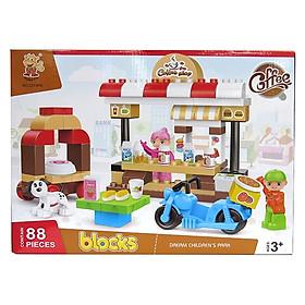 Đồ Chơi Xếp Khối Bộ Cafe Shop Lớn VBC-222-B36