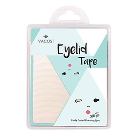 Hộp 25 Miếng 10 Cặp Dán Mí Trong Suốt Vacosi Eyelid Tape