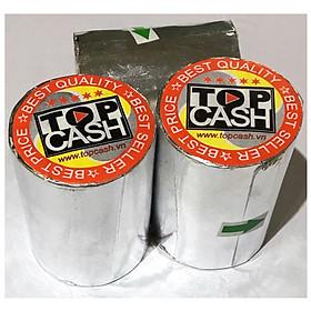 10 cuộn giấy nhiệt in bill, in hóa đơn (thermal paper) TOPCASH K57mm phi 45mm dùng cho máy in nhiệt in hóa đơn, máy tính tiền. Hàng chính hãng