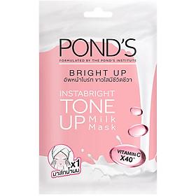 Mặt Nạ Sữa Dưỡng Trắng Nâng Tông Pond'S White Beauty Bright Up Milk Mask 25G