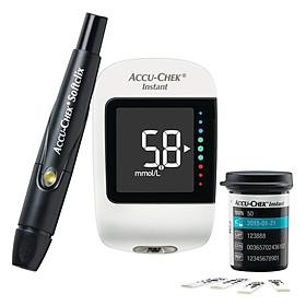 Bộ Máy Đo Đường Huyết Accu-Chek Instant mmol/L