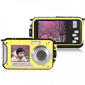Máy Chụp Ảnh Kỹ Thuật Số Màn Hình Kép Amkov (2.7 inch) (24Mp)