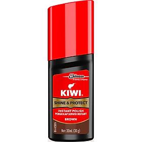 Xi Nước Màu Nâu Kiwi Shine & Protect Brown 30ml