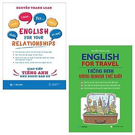 Combo English For Travel - Tiếng Anh Vòng Quanh Thế Giới + Giao Tiếp Tiếng Anh Như Người Bản Xứ (Bộ 2 Cuốn)
