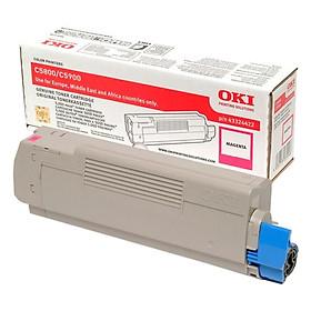 Mực In Laser Màu OKI C5800 C/M/Y/K Cho Máy In OKI C5800N, C5900N (Gồm Chip) - Hàng Chính Hãng