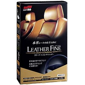Chai Vệ Sinh Và Bảo Dưỡng Nội Thất Ghế Da Ô Tô Leather Fine Cleaner L-50 SOFT99 100ml