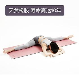 Keep yoga mat fitness mat double odorless environmentally friendly non-slip yoga beginner 5mm black-3