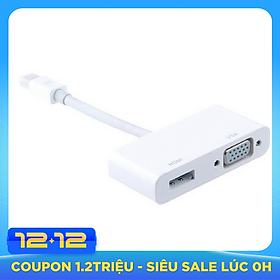 Cáp Thunderbolt - Mini Displayport to HDMI + VGA LSHV01