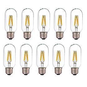 Bộ 10 bóng đèn Led Edison T45 4W đui E27.
