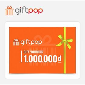 Giftpop - Phiếu Quà tặng Giftpop 1000K