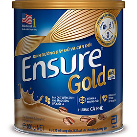 Sữa Bột Abbott Ensure Gold Coffee (HMB) 400g