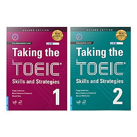 Combo Taking The TOEIC - Skills and Strategies 1 + 2 ( tặng 1MP3)