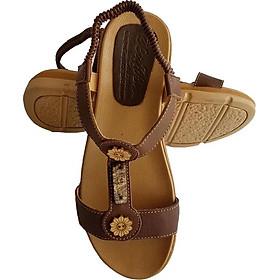 Giày Sandal Nữ BIGGBEN Da Bò Thật SDN07