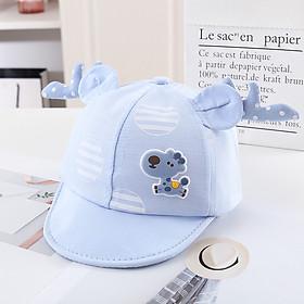Mũ Cho Bé Trai Mũ Cho Bé Gái Với Họa Tiết Hươu Cao Cổ Phong Cách Hàn Quốc Siêu Dễ Thương cho bé từ 6 tháng đến 24 tháng