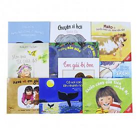 Combo Ehon cần có dành cho lứa tuổi 3-6 ( 10 cuốn)