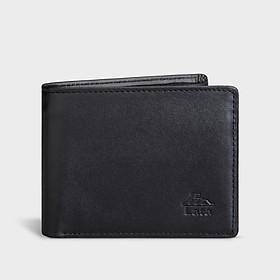 Ví nam da bò dáng ngang thời trang LATA LVN69 , 9 ngăn, đựng vừa tiền, CMND và 5 thẻ namecard, phù hợp đi chơi, đi làm, sử dụng hằng ngày, da bò thật 100%, không bong tróc, độ bền cao (Dài 13cm x Cao 10cm)
