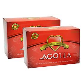 Bộ 2 Hộp Thực Phẩm Chức Năng Trà Tăng Huyết Áp Acotea A001B (20 Gói / Hộp)