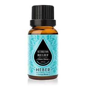 Tinh Dầu Giảm Stress Stress Relief Blends Essential Oil Heber | 100% Thiên Nhiên Nguyên Chất Cao Cấp | Xông Hương Thơm Phòng