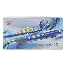 Hộp 20 Bút Bi Thiên Long TL-036 - Xanh