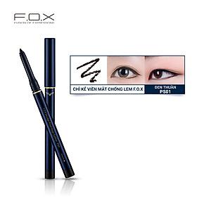 Chì Kẻ Viền Mắt Chống Lem F.O.X Smudge-Proof Magic Eyeliner 0.3g