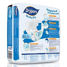 Tã Dán Drypers Wee Wee Dry Newborn NB64 (64 Miếng)-1