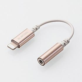 Cáp Chuyển Đổi Lightning Sang Audio 3.5 mm Elecom MPA-L35DS01 - Hàng Chính Hãng