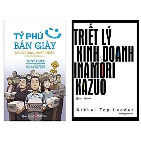Combo Sách Doanh Nhân Hay : Tỷ Phú Bán Giày + Triết Lý Kinh Doanh Của Inamori Kazuo ( Tặng Kèm Bookmark Thiết Kế )
