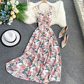 Đầm Maxi Xuân Hè mẫu Hoa Thời trang