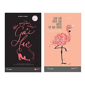 Combo Sách Hay Cho Quý Cô : Đặc Quyền Gái Hư + Con Gái Hiện Đại Đừng Tự Hại Mình ( Tặng Kèm Postcard Happy Life )