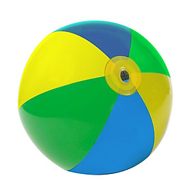 Beach Ball Kids Inflatable Beach Sprinkler Water Spray Ball, Summer Water Sports Sprinkler Spray Beach Ball, Inflatable