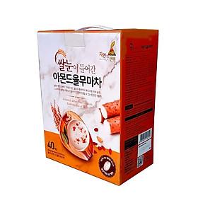 Bột ngũ cốc Hàn Quốc N-Choice Hạnh nhân, ý dĩ, củ mài và gạo mầm 800g – hộp 40 gói x 20g / gói