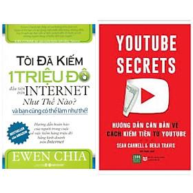 Combo sách: Tôi Đã Kiếm 1 Triệu Đô Đầu Tiên Trên Internet Như Thế Nào? - Và Bạn Cũng Có Thể Làm Như Thế + HƯỚNG DẪN CĂN BẢN VỀ CÁCH KIẾM TIỀN TỪ YOUTUBE