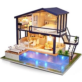 Nhà búp bê Ngôi nhà thu nhỏ lắp ghépTime Apartment