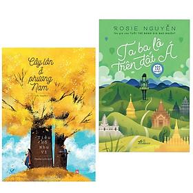 [Download sách] Combo 2 cuốn sách văn học đặc sắc: Cây Lớn Ở Phương Nam + Ta Ba Lô Trên Đất Á ( Tặng kèm Bookmark Happy Life)