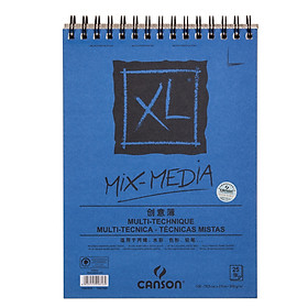 (CANSON) XL series of painting book fine lines sketch the color of the lead sketch coil 16K 40