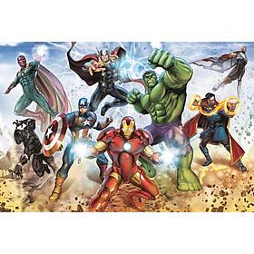 Tranh ghép hình Trefl 15368 - 160 mảnh chủ đề Đội siêu anh hùng Disney Marvel The Avengers
