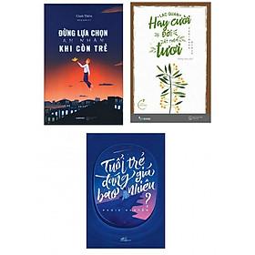 Combo 3 Cuốn Kỹ Năng Sống Hay: Đừng Lựa Chọn An Nhàn Khi Còn Trẻ + Lạc Quan Hay Cười, Đời Ắt Thêm Tươi + Tuổi Trẻ Đáng Giá Bao Nhiêu (tặng kèm postcard greenlife)