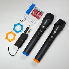 Micro Đôi Karaoke - Micro Không Dây MV 01 - Hàng chính hãng