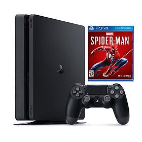 Bộ Máy Game Ps4 Slim 500gb Model 2218a Kèm Game Spider-man -Hàng Chính Hãng