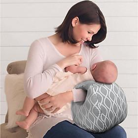 Gối, đệm lót cho bé bú giúp mẹ kê tay ti bé không mỏi tay, giúp bố bế bé thêm êm ái, gối sơ sinh gối ẵm bé cao cấp BB42-GBBketay