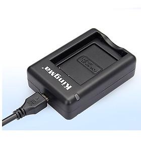 Sạc Kingma cho pin NP-BX1 và NB-BY1 dùng cho Sony RX100 AS30V AS100VR HX400 WX300 - Hàng chính hãng