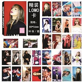 Lomo Blackpink hình thành viên Lisa Lomo card  Blackpink Lisa