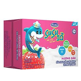 Thùng 24 Chai Sữa Chua Uống Susu IQ Hương Dâu (150ml)