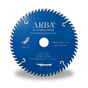 Combo 3 Lưỡi cưa gỗ ARBA D180x25.4x60T